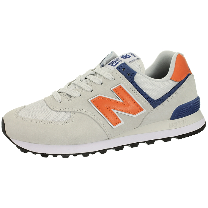 New-Balance-ml574-Classic-574-Hommes-Daim-Low-top-Baskets-RARE-NEUF miniature 13