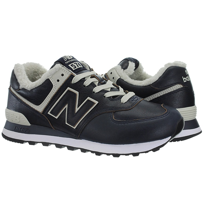 thumbnail 14 - New Balance ML574 warm winter Sneaker Fleece Fur Lining 574 Men's Shoes NEW
