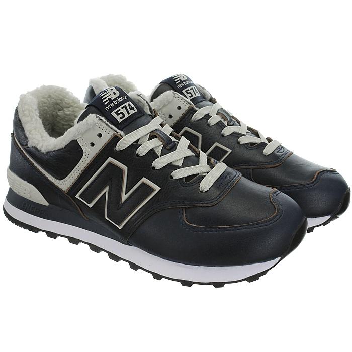 thumbnail 15 - New Balance ML574 warm winter Sneaker Fleece Fur Lining 574 Men's Shoes NEW
