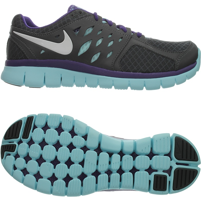 Nike WMNS FLEX 2013 RUN MSL women s running shoes sneakers blue ... 997c1e9b0