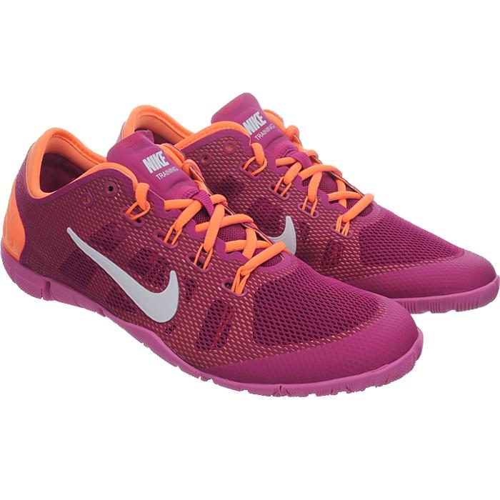 Details zu Nike FREE BIONIC lila pink orange Damen Workout Schuhe Fitness Running NEU OVP