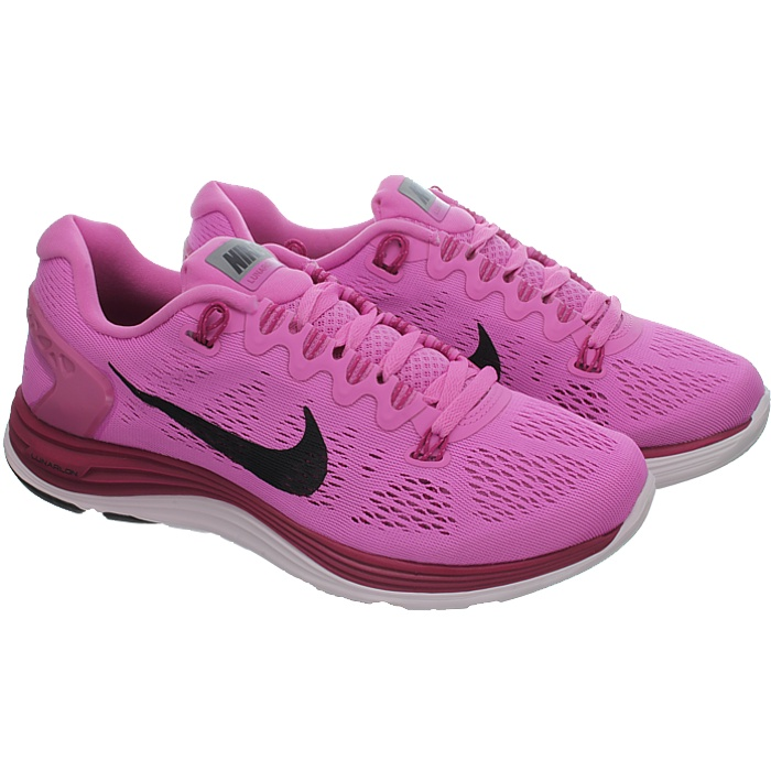 de544b8b1806 Nike WMNS LUNARGLIDE+ 5 women running shoes athletic sneakers black ...