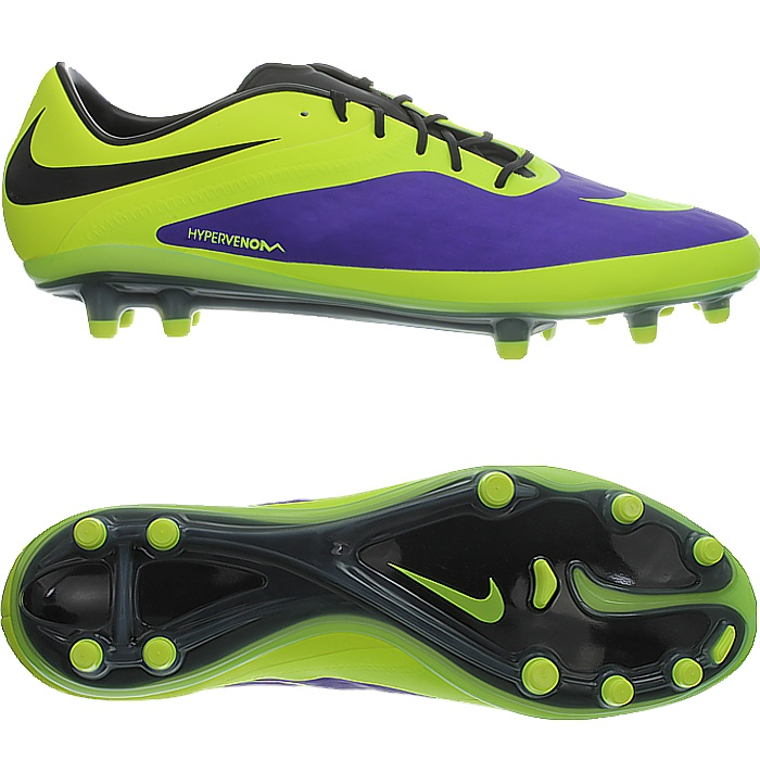 4f1844d5dbde Details about Nike Hypervenom Phatal FG men s soccer cleats yellow purple black  football boots