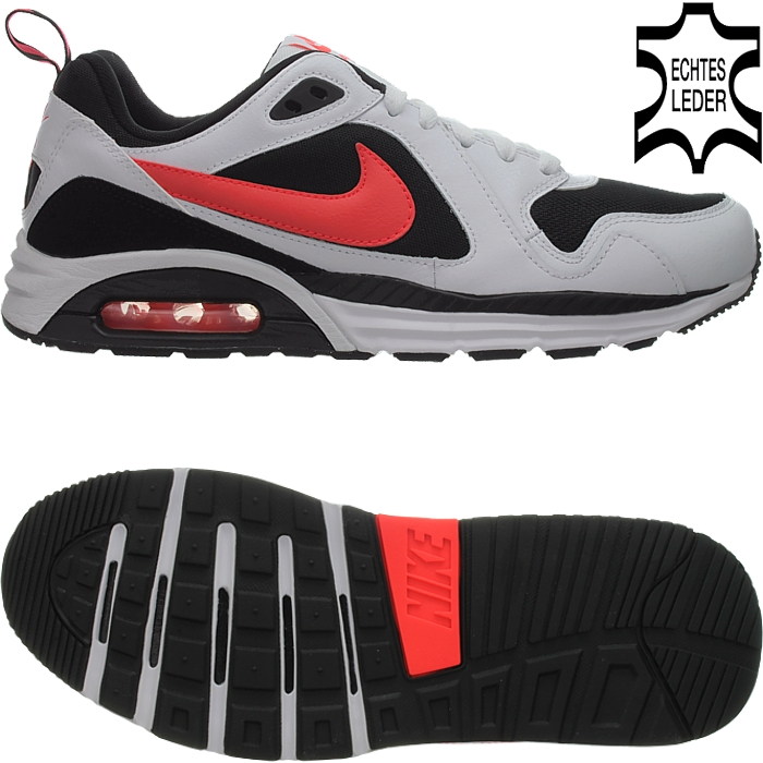 Nike AIR MAX TRAX LEATHER Homme leather casual chaussures athletic Baskets leather Homme NOUVEAU Chaussures de sport pour hommes et femmes 80a586