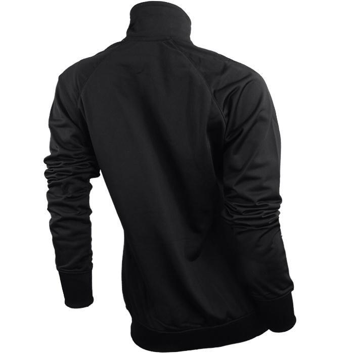 nike raglan warm up schwarz wei damen trainingsanzug suit. Black Bedroom Furniture Sets. Home Design Ideas
