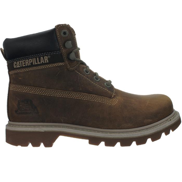 Caterpillar-Colorado-Schwarz-Braun-Beige-Herren-Leder-Boots-Stiefel-6-Farben-Neu