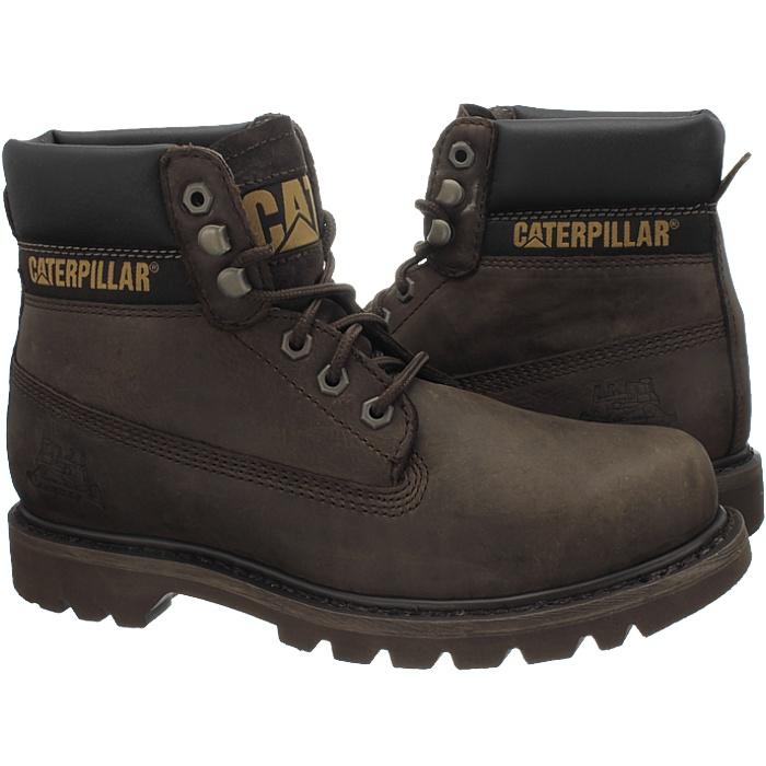 Caterpillar-Colorado-Noir-Marron-Beige-Messieurs-Cuir-Boots-Bottes-6-Couleurs-Neuf miniature 7