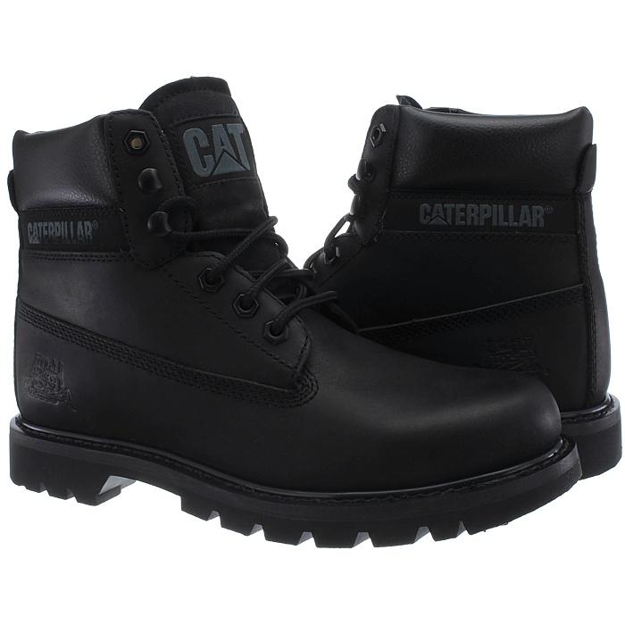 Caterpillar-Colorado-Noir-Marron-Beige-Messieurs-Cuir-Boots-Bottes-6-Couleurs-Neuf miniature 15