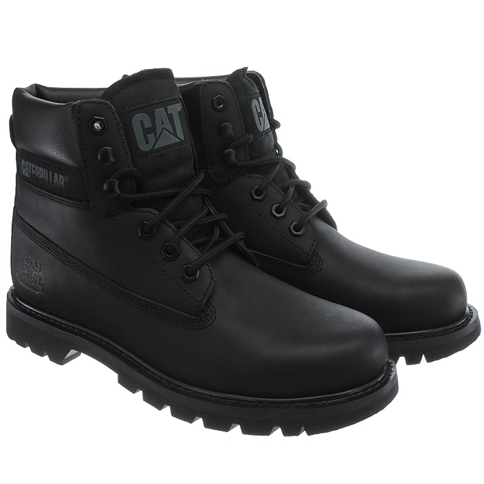 Caterpillar-Colorado-Noir-Marron-Beige-Messieurs-Cuir-Boots-Bottes-6-Couleurs-Neuf miniature 16
