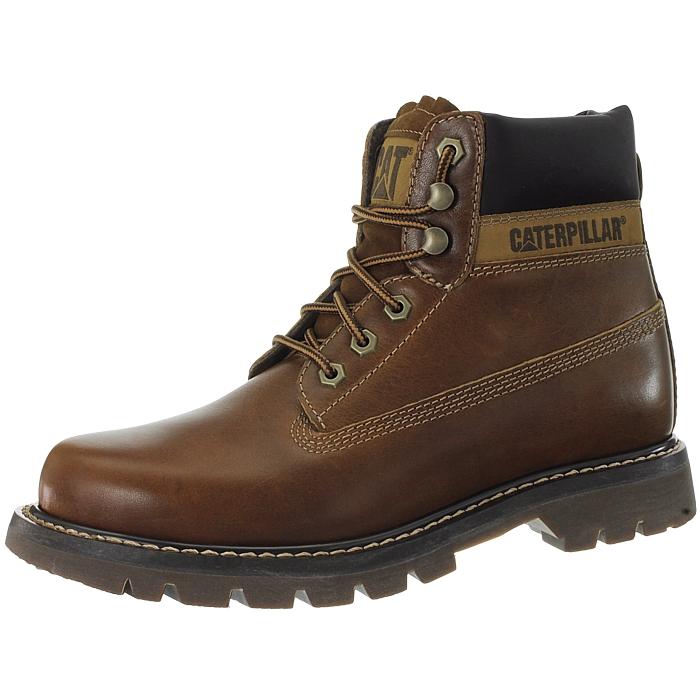 Caterpillar-Colorado-Noir-Marron-Beige-Messieurs-Cuir-Boots-Bottes-6-Couleurs-Neuf miniature 33