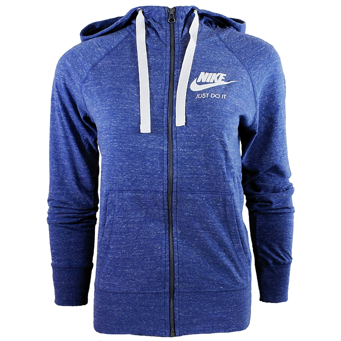 Details about Nike M NSW Gym Womens Hooded Jacket Anthracite Blue Pink Black Hoodie NEW show original title