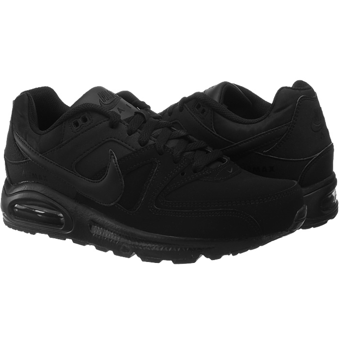 7626fc49 Nike Air Max Command Leather black or gray men's sneakers casual ...