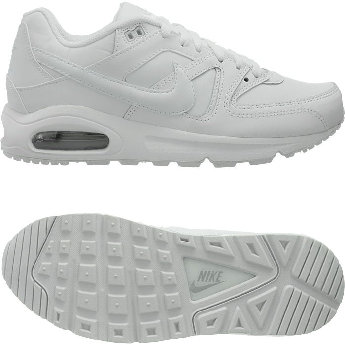 Details about Nike Air Max Command Leather herrensneaker White or Black Smooth Leather New show original title