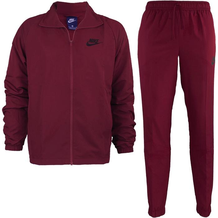 beste Schuhe großer Abverkauf Vielzahl von Designs und Farben Herren Rot Schwarz Sportswear Blau Trainingsanzug Nike ...