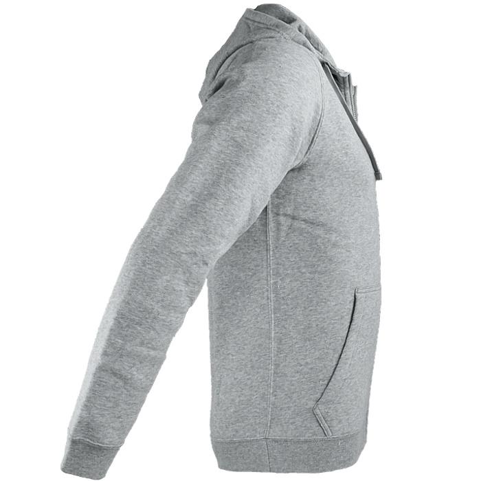 Felpa Grigio Nero Sportswear Felpa da Nuovo con uomo Nike Fullzip cappuccio qFF6pTHw