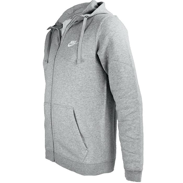 Nuovo cappuccio Nero Sportswear Nike Fullzip con Felpa Felpa da uomo Grigio vq45px5