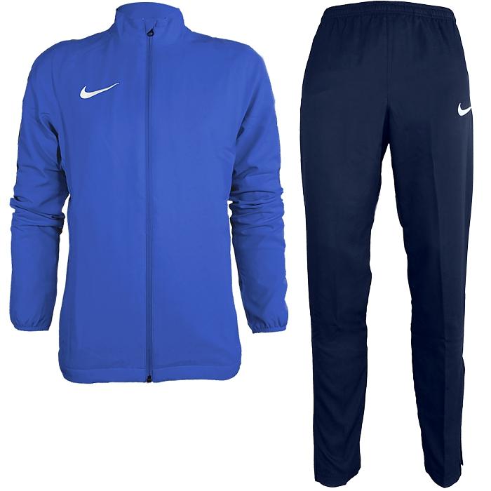 Nike-Academy-18-Trainingsanzug-Herren-Polyesteranzug-Sport-Fitness-Fussball Indexbild 5