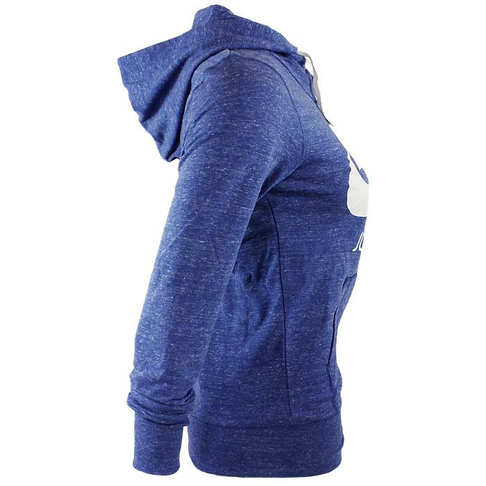 NIKE M NSW GYM Damen Kapuzenjacke anthrazit blau pink