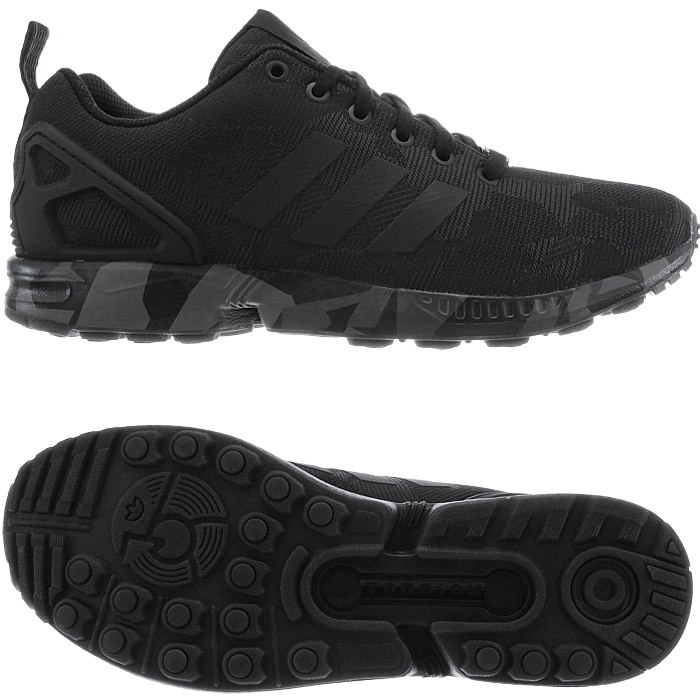 Adidas ZX FLUX men's low-top sneakers casual shoes streetwear trainers mesh NEW