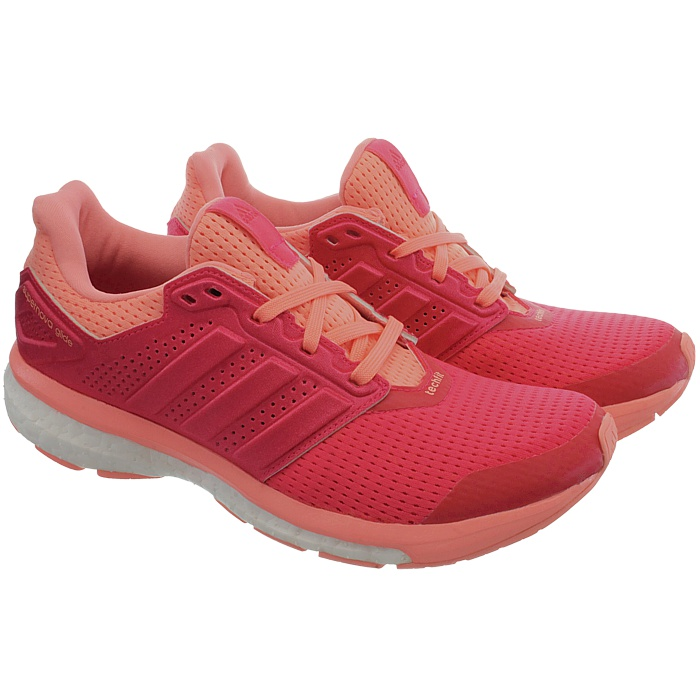 Adidas Supernova Glide 8 W Techfit Boost red Women s running shoes ... ed77a6242