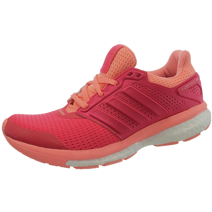 792790c60554a Adidas Supernova Glide 8 W Techfit Boost red Women s running shoes ...