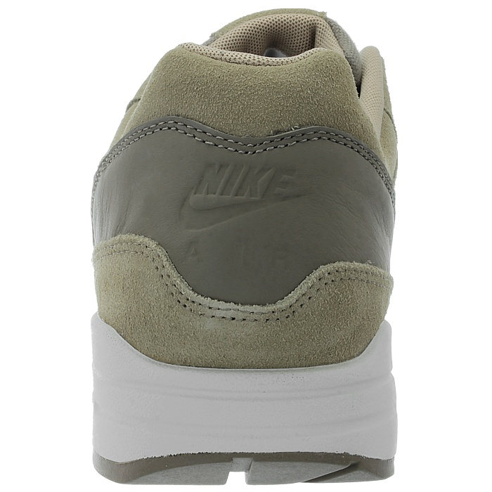 Details about Nike Air Max 1 Premium LTR Mens Low Top Sneakers BeigeBrown Suede New show original title