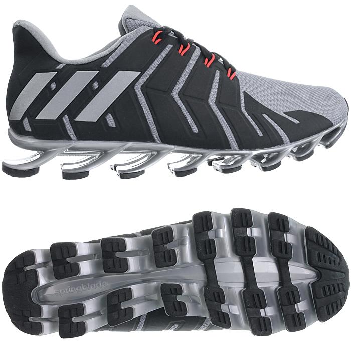 Kaufen Herren Adidas Springblade Pro Lauf Schuhe Silber Grau