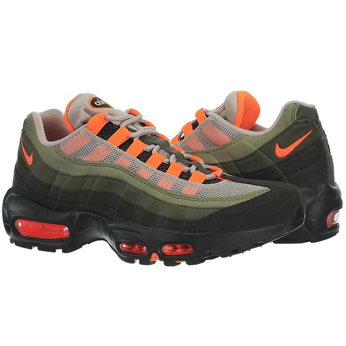 Details zu Nike Air Max 95 Herren Fashion Sneakers Schuhe grün Freizeitschuhe Sportschuhe