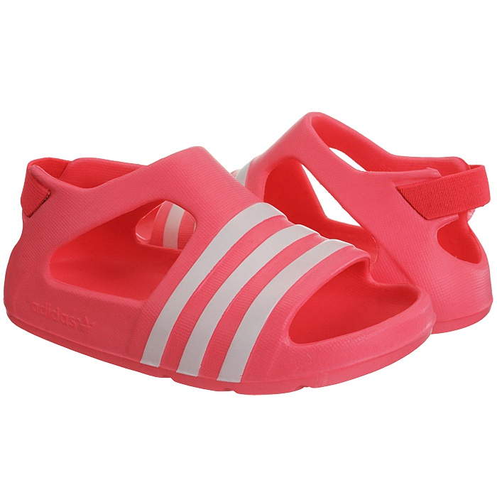 f3f145584833 Adidas Adilette Play I Kid s slides pink blue red pool shower ...
