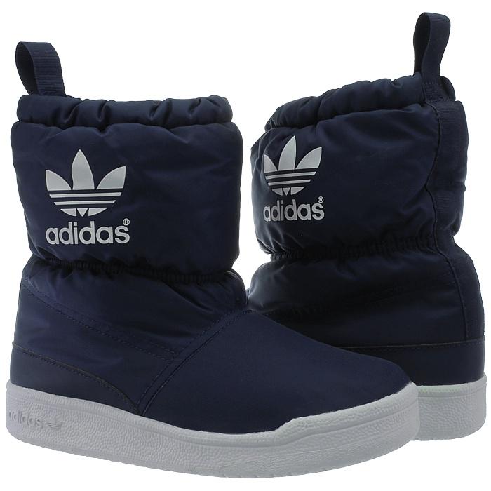 Details zu Adidas Slip on Boot K Kinder Schneestiefel pink blau Schlupfstiefel Winter NEU