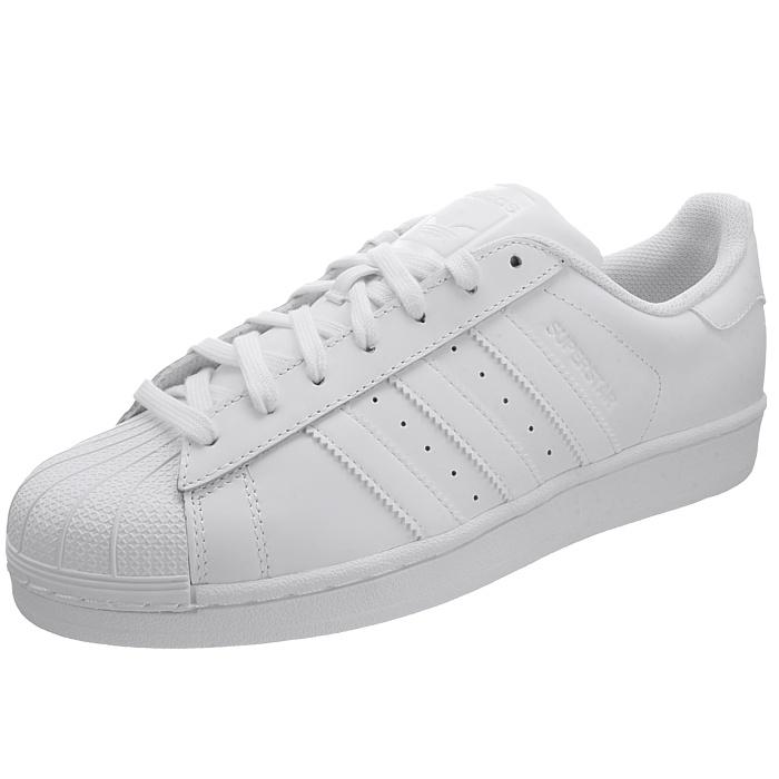 hot sale online 39056 9bcdb Adidas-Superstar-Foundation-Herren-Sneakers-weiss-oder-weiss-