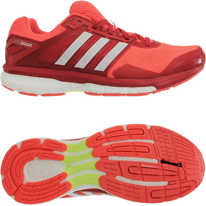 online store 17a10 90e36 ... comfort and fit and makes the Glide a real lightweight. The  energy-returning boost midsole provides endless energy at every step.