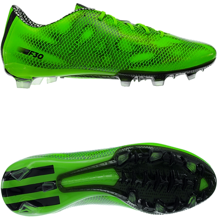 new product 90c18 13ff9 Details about Adidas F30 TRX FG men s soccer cleats green black silver FG-studs  NEW
