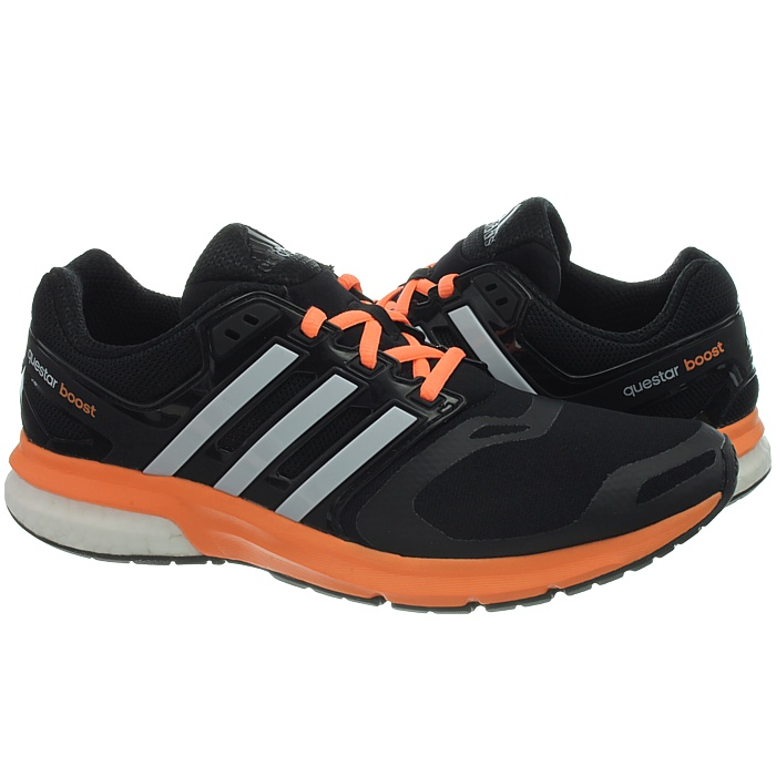 Details about Adidas Adistar/Questar Boost Women's running shoes black/pink  black/orange NEW