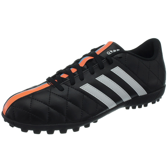 cc291e14a Details about Adidas 11Questra TF men s soccer cleats black white turf  multi-cams NEW
