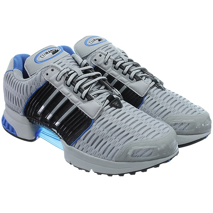 Adidas-ClimaCool-1-grau-rot-Herren-LifeStyle-Sneakers-Running-Clima-Cool-NEU miniatuur 4
