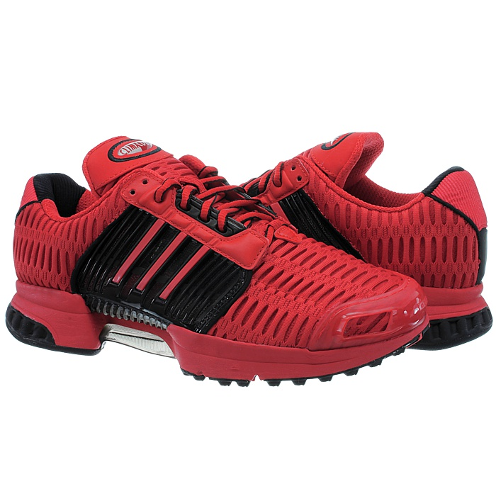 Adidas-ClimaCool-1-grau-rot-Herren-LifeStyle-Sneakers-Running-Clima-Cool-NEU miniatuur 7