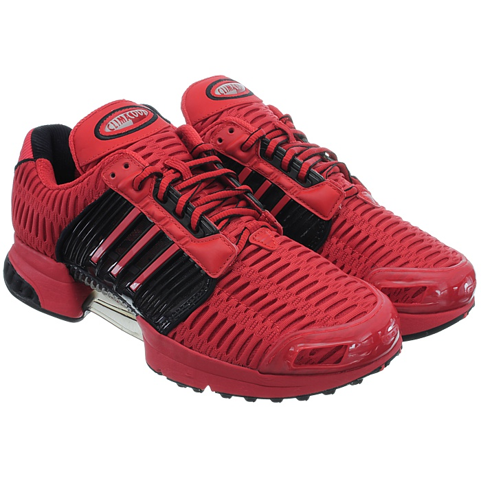 Adidas-ClimaCool-1-grau-rot-Herren-LifeStyle-Sneakers-Running-Clima-Cool-NEU miniatuur 8