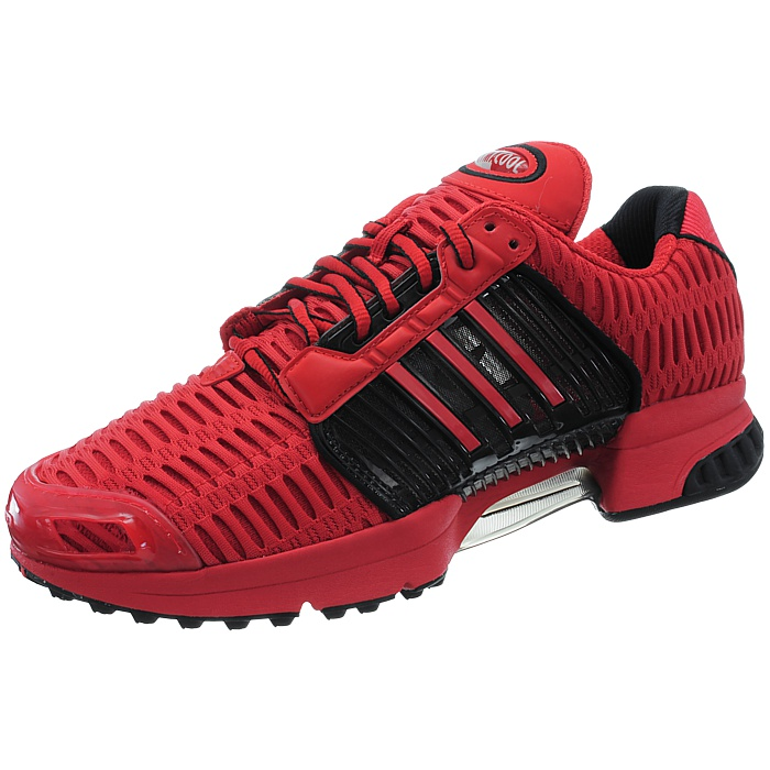 Adidas-ClimaCool-1-grau-rot-Herren-LifeStyle-Sneakers-Running-Clima-Cool-NEU miniatuur 9