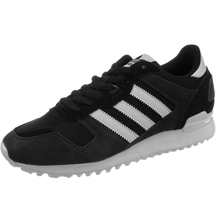 0ca227e4213 Details about Adidas ZX 700 men s athletic retro sneakers black or red  casual shoes suede NEW