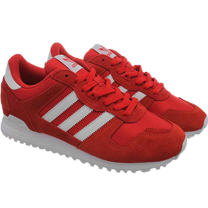 adidas zx 700 herren sneakers schwarz oder rot. Black Bedroom Furniture Sets. Home Design Ideas