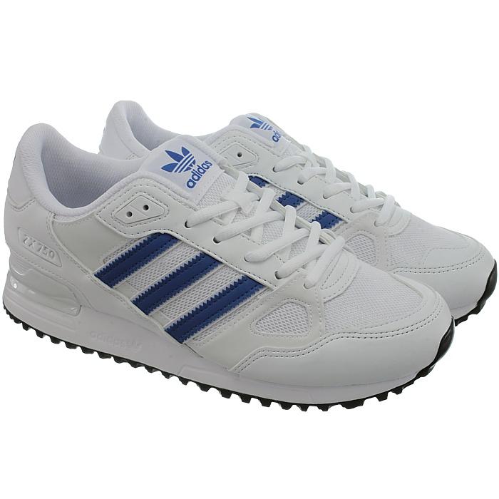 Adidas ZX 750 antracita naranja blanco azul azul azul señores fashion zapatillas Zapatos  nuevo 81f568