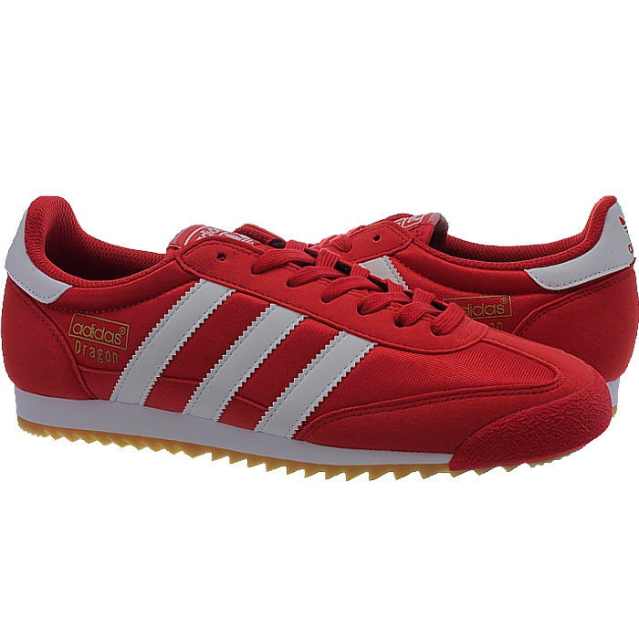 Red Adidas Dragon Shoes