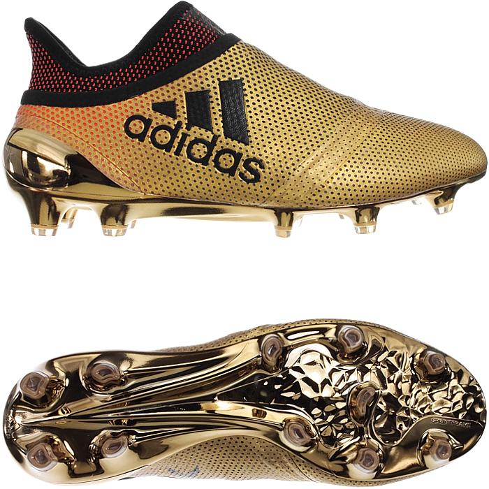 Adidas X17+ PureSpeed FG weiß oder Gold Herren Nocken Profi-Fußballschuhe NEU Gold