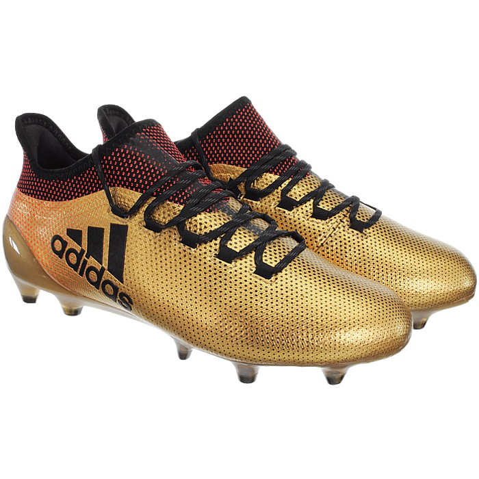 pivote Conciso Incompetencia  Adidas X17.1 FG gold or green Men's Professional Soccer Boots FirmGround  NEW   eBay