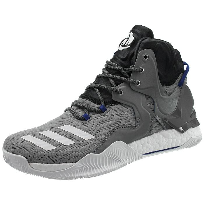Adidas-D-Rose-7-Boost-Herren-Basketballschuhe-schwarz-oder-grau-Stiefel-NEU