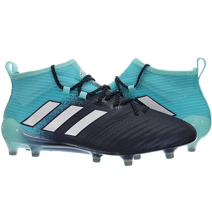 Adidas-Ace-17-1-FG-Nocken-Herren-Profi-Fusballschuhe-orange-weis-turkis-NEU miniatuur 7
