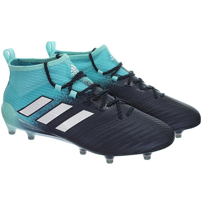 Adidas-Ace-17-1-FG-Nocken-Herren-Profi-Fusballschuhe-orange-weis-turkis-NEU miniatuur 8