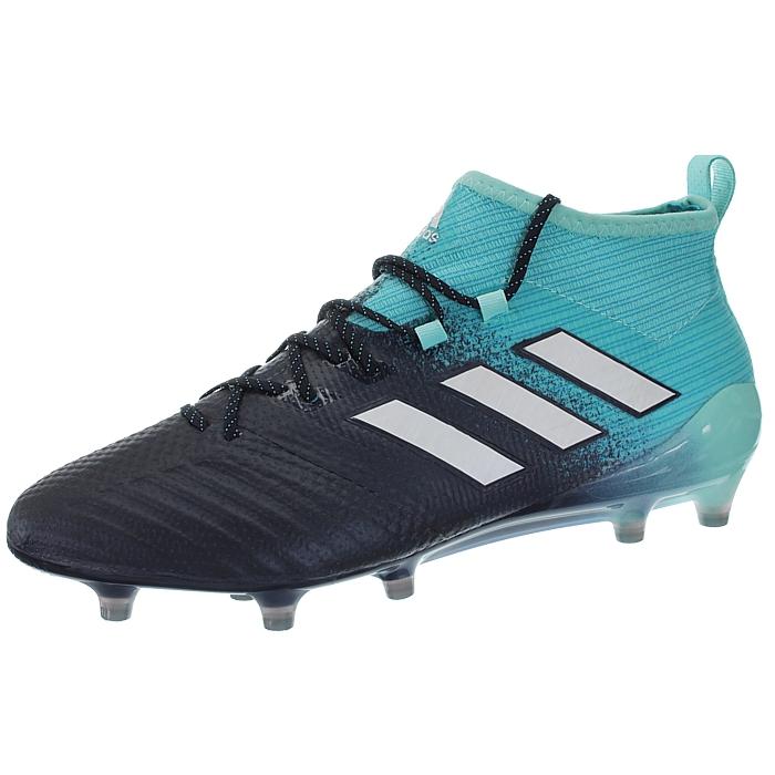 Adidas-Ace-17-1-FG-Nocken-Herren-Profi-Fusballschuhe-orange-weis-turkis-NEU miniatuur 9