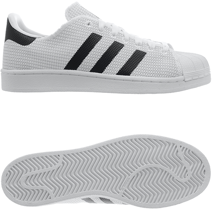 best website a5716 da614 Details about Adidas Superstar men s low-top sneakers black or white casual  shoes trainers NEW